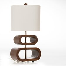 "Liam Topsy Turvy 20"" H Table Lamp with Drum Shade"