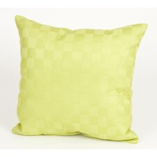 LuLu Pillow with Checker Pattern