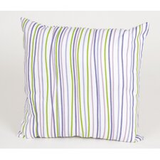 <strong>Sweet Potato by Glenna Jean</strong> LuLu Square Pillow with Stripes