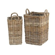 <strong>Ibolili</strong> French Bottle Basket (Set of 2)