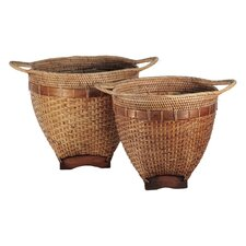 <strong>Ibolili</strong> Wayan Rice Basket (Set of 2)