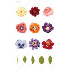 Cricut Giant Flowers Cartridge