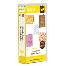 Cricut Simple Card Cartridge