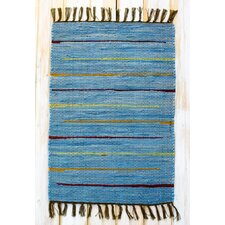 Canyon Blue Stripe Rug