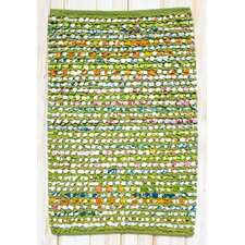Staccato Green Rug