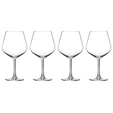Advantage Glassware Essentials Burgundy Glasses (Set of 4)