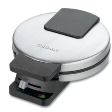<strong>Cuisinart</strong> Round Classic Waffle Maker in Brushed Stainless