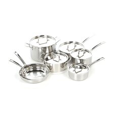 <strong>Cuisinart</strong> MultiClad Pro Stainless Steel 12-Piece Cookware Set