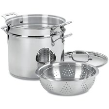 Chef's Classic 12 Qt. Stainless Steel 4 Piece Set