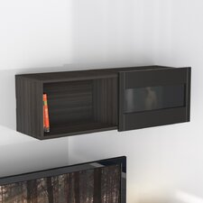 <strong>Nexera</strong> Nuance Wall Shelf with Sliding Door