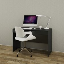 Next Computer Desk with Retractable Shelf
