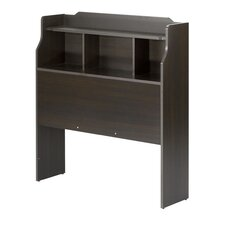 Dixon Bookcase Headboard in Espresso