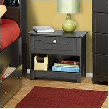 <strong>Nexera</strong> Dixon 1 Drawer Nightstand