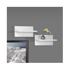 <strong>Nexera</strong> Liber-T Wall Shelf (Set of 2)