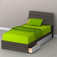 Allure Storage Sleigh Bed