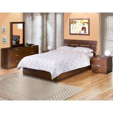 <strong>Nexera</strong> Nocce Truffle Platform Bedroom Collection
