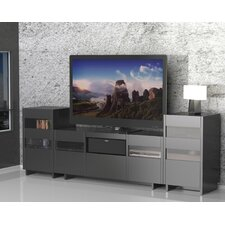"Vision 60"" TV Stand with Audio Towers"