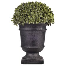 Artificial Half Ball Topiary Urn