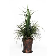 Artificial Sea Grass in Decorative Vase