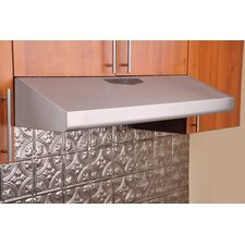 "35.75"" 290 CFM Brilla CHX29.75 Series Under Cabinet Range Hood"