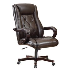<strong>Inspired by Bassett</strong> Chapman Eco Leather Executive Office Chair