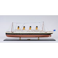 <strong>Old Modern Handicrafts</strong> 100 Year Anniversary Limited Edition Titanic Model Ship