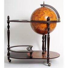 <strong>Old Modern Handicrafts</strong> Globe Drinks Trolley 420mm-Red