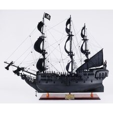 Black Pearl Pirate Model Ship