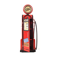 Decorative Gas Pump with Clock 1:4