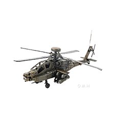 Ah-64 Apache 1:24 Helicopter