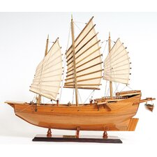 Chinese Junk Model Boat