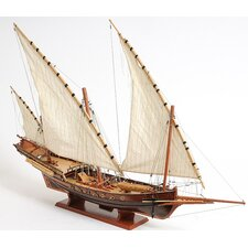 Xebec Sailing Model Ship