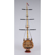 HMS Victory Cross Section Model Ship