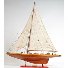 Medium Shamrock Model Boat