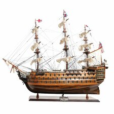 <strong>Old Modern Handicrafts</strong> HMS Victory Exclusive Edition Model Ship