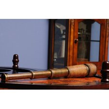 Antique Handheld Telescope in Wood Box