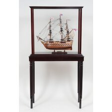 Tall Ship Display Case
