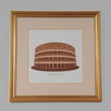 Roma Italy The Coliseum Framed Graphic Art