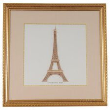 Paris La Tour Eiffel Framed Graphic Art
