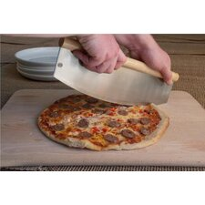 Rocking Wood Pizza Cutter