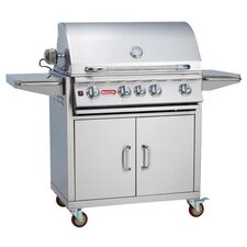 """Angus 30"""" Gas Grill with Lights"""