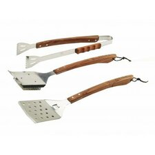 <strong>Bull Outdoor Products</strong> Vineyard Rosewood 3 Piece BBQ Tool Set
