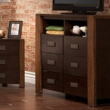 Element 6 Drawer Media Chest