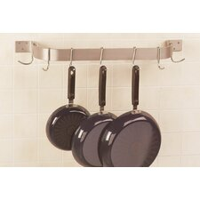 Wall Mounted Single Bar Pot Rack