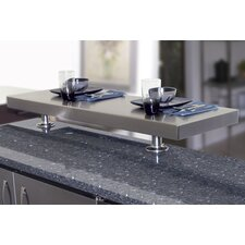 <strong>A-Line by Advance Tabco</strong> Kitchen Island Counter Mounted Shelf