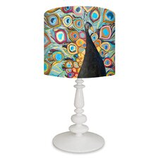 Peacock Metallic Tide Pool Table Lamp
