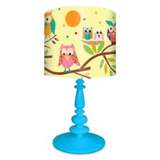Owls on Branch Table Lamp