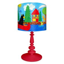 <strong>Oopsy Daisy</strong> Black Bear Lodge Table Lamp