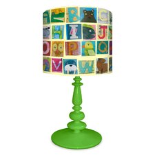 Animal Alphabet Table Lamp