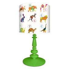 A to Z Animal Prints Table Lamp